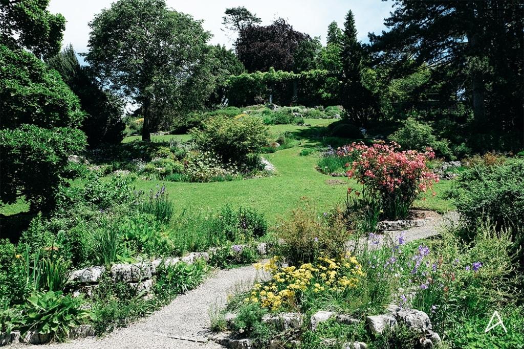 الحديقة النباتية في لوزان - الاماكن السياحية في لوزان