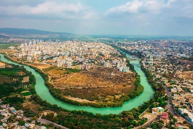 نهر غوكسو مرسين - اماكن سياحية في مرسين تركيا