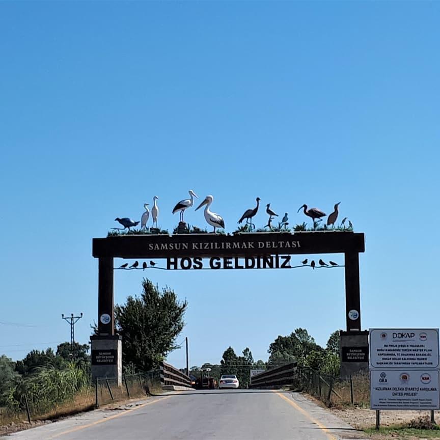 جنة الطيور في سامسون