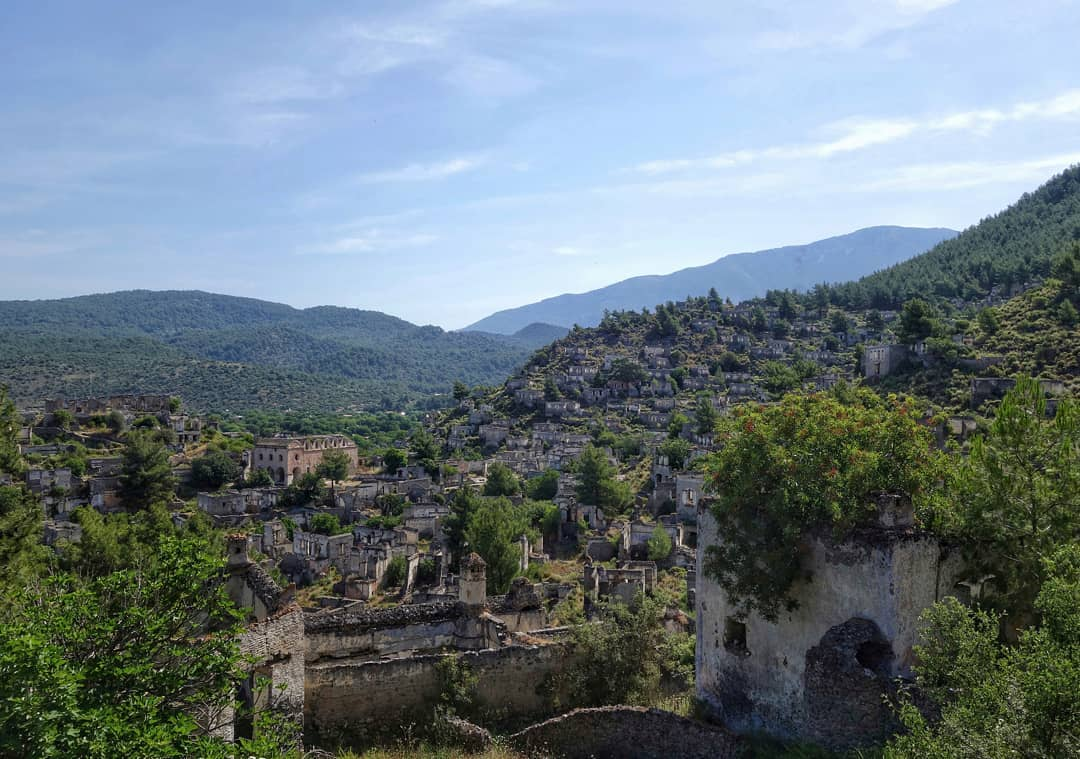 قرية كاياكوي فتحية - السياحة في فتحية تركيا