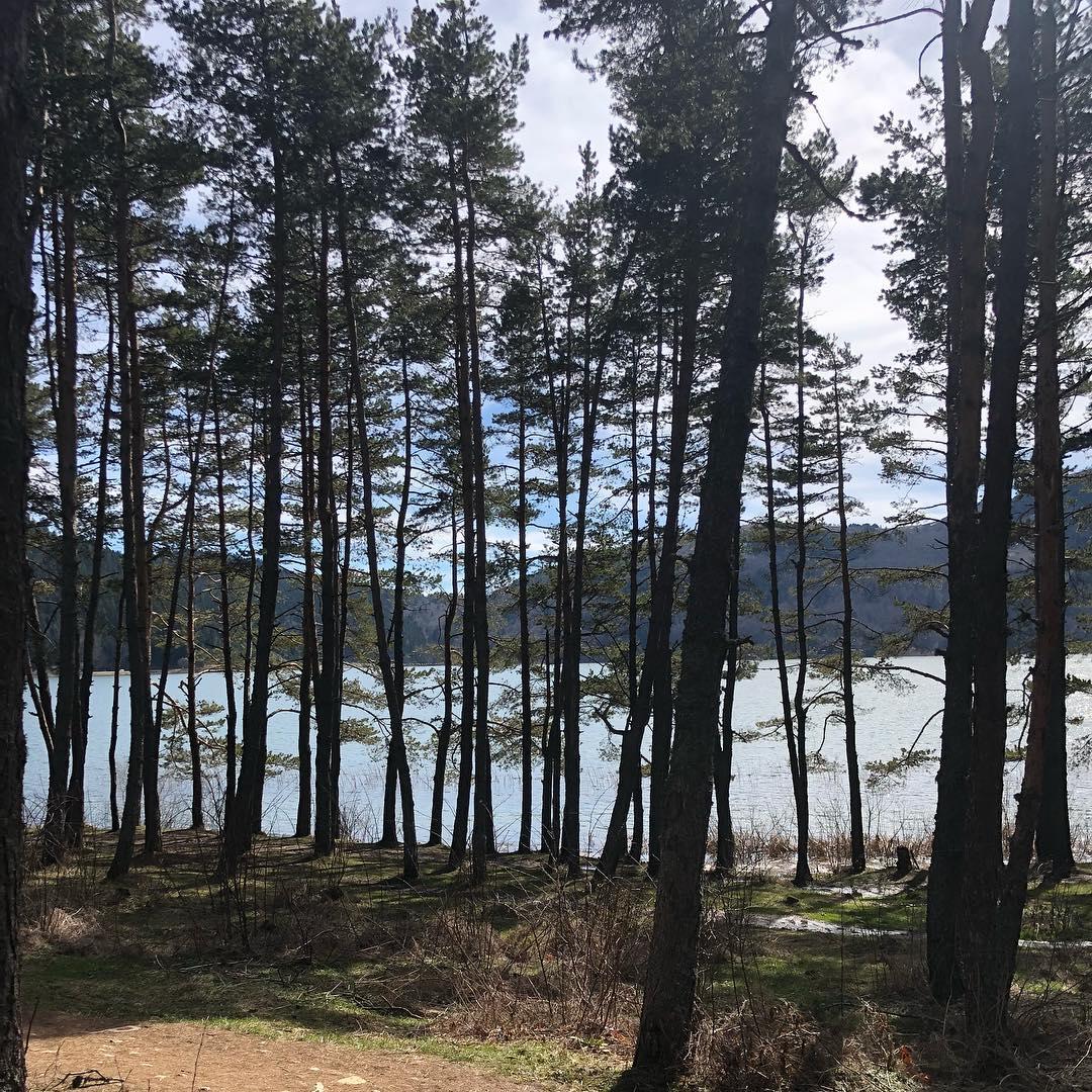 بحيرة ابانت في بولو