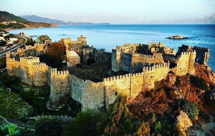 قلعة معمورة في مرسين - السياحة في مرسين تركيا