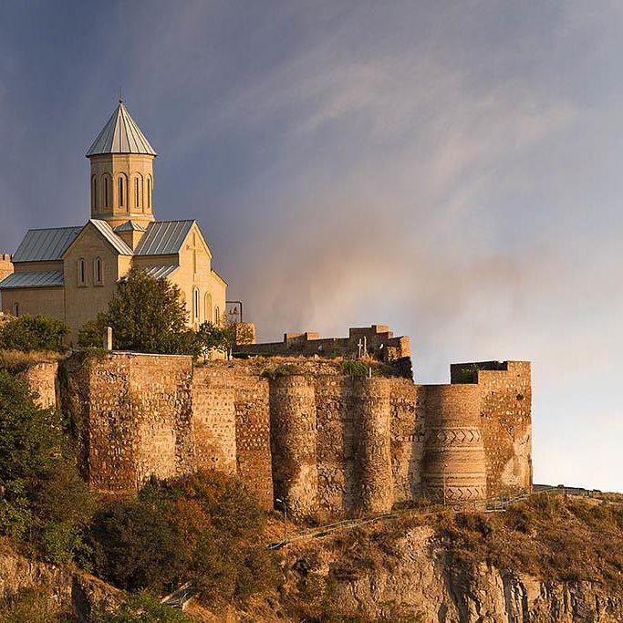 قلعة ناريكالا تبليسي - الاماكن السياحية في جورجيا تبليسي