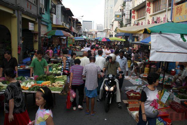 السوق الصيني بينانج