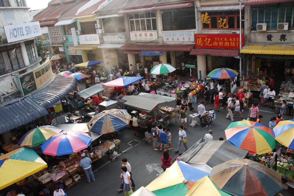 السوق الصيني في بينانج