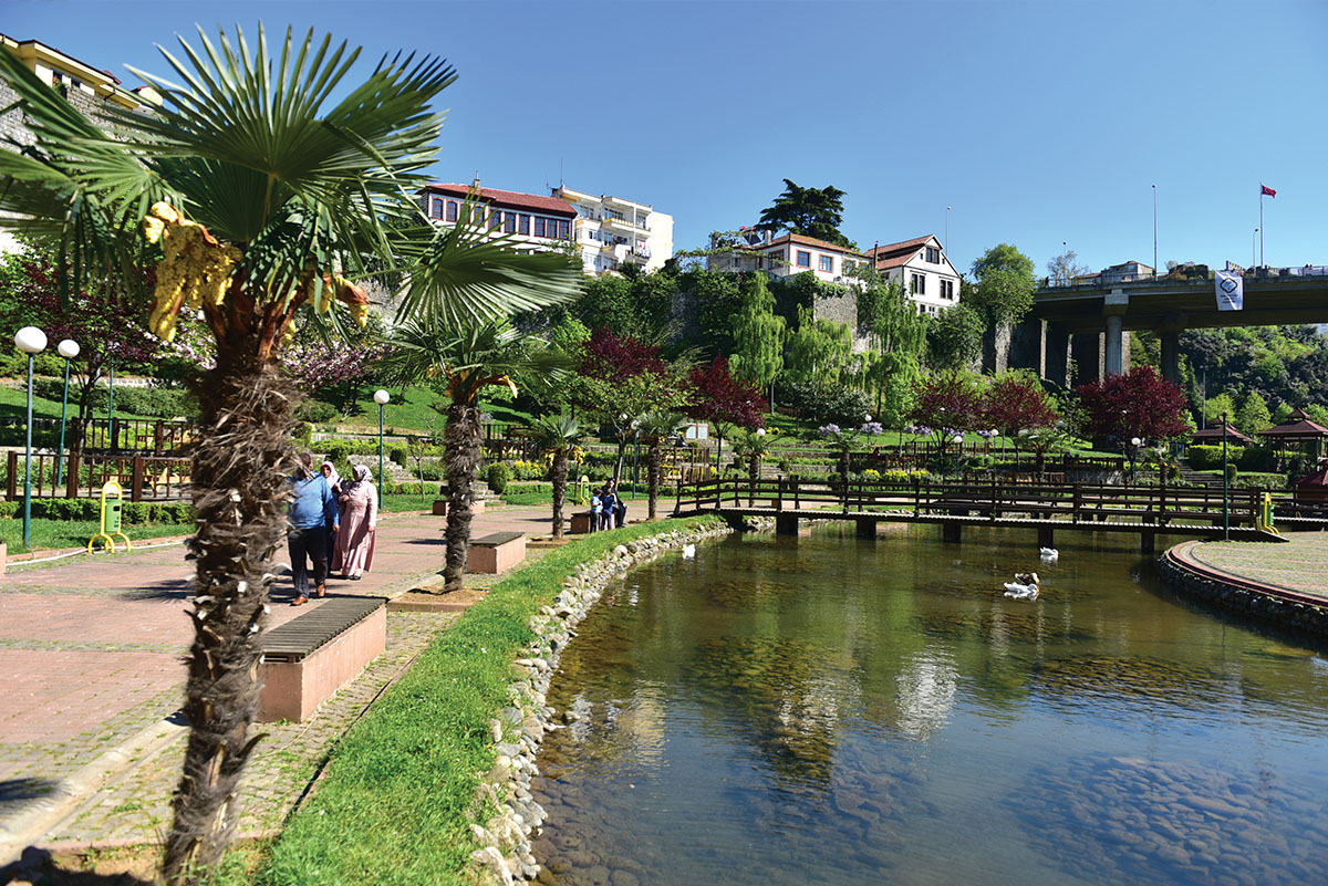 حديقة زاقنوس افضل الاماكن في طرابزون