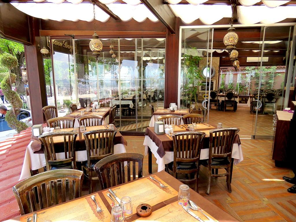 مطعم حجي داي بورصه - الاماكن السياحية في بورصة