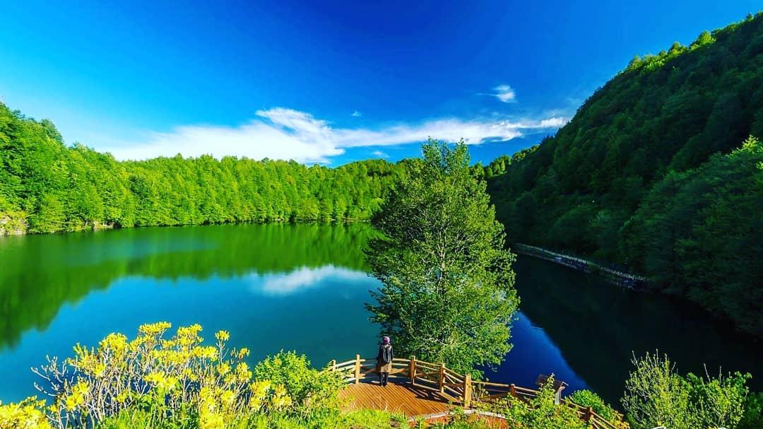 بحيرة اولو قول - اماكن سياحية في اوردو