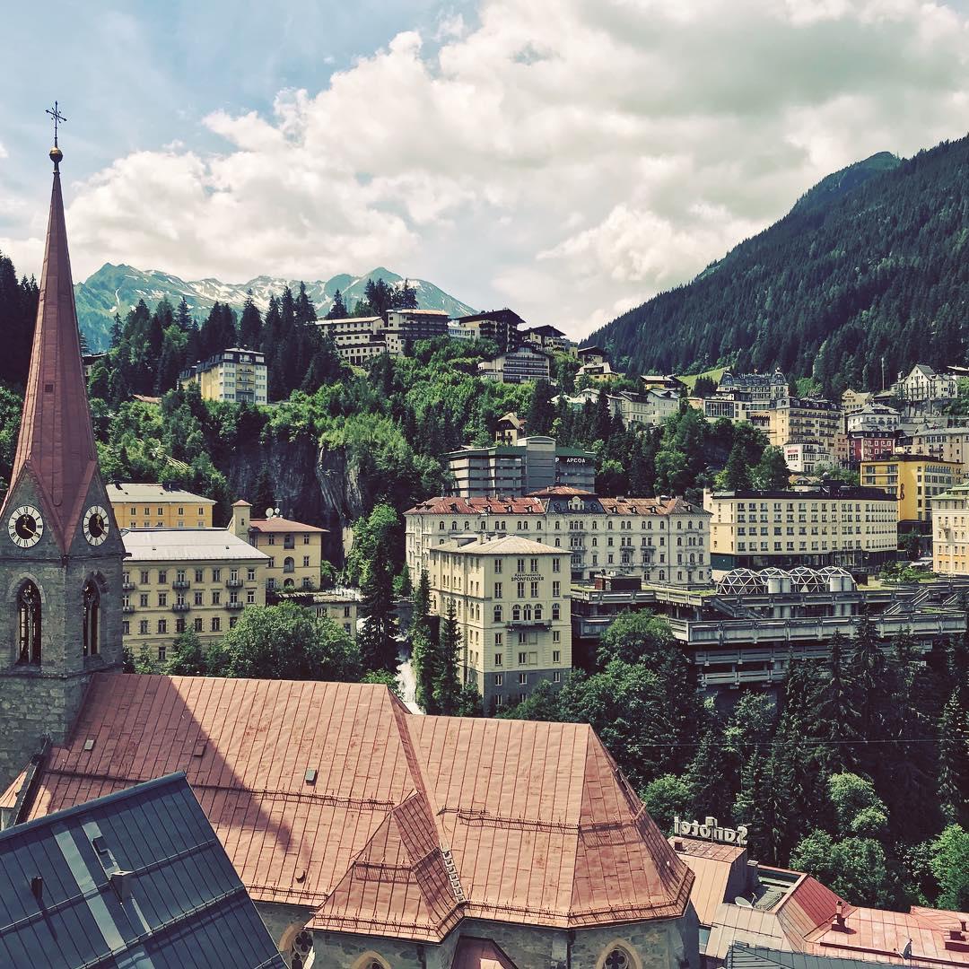 قرية باد جاستين - اجمل الارياف النمساويه