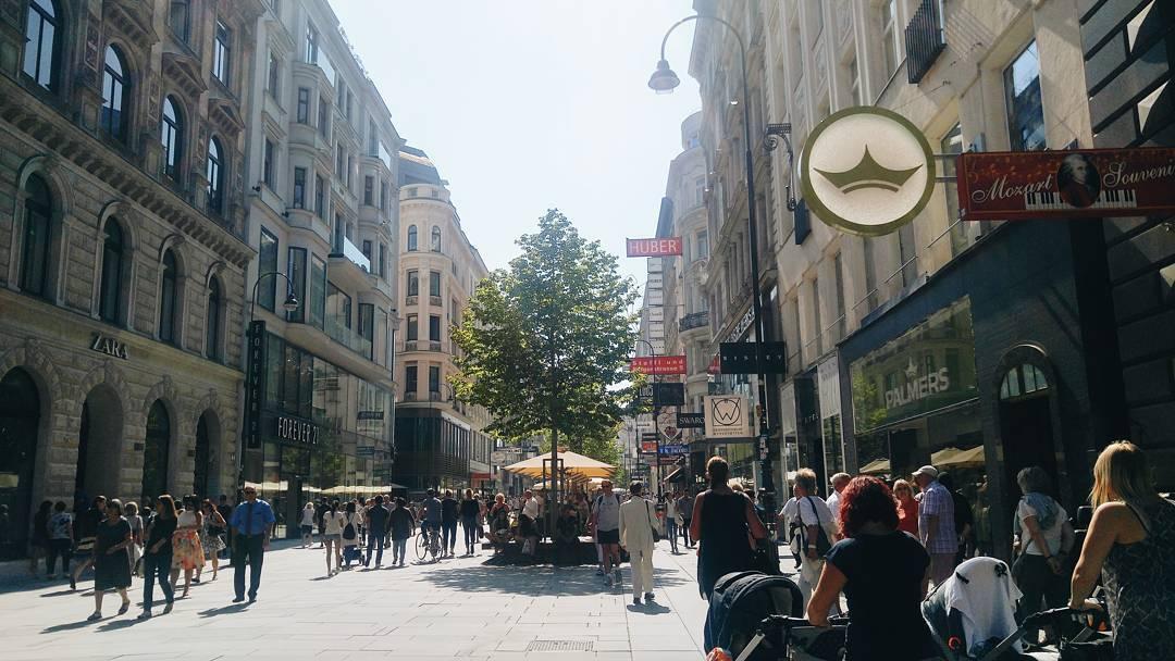 شارع كارنتنر فيينا - السياحة في فيينا