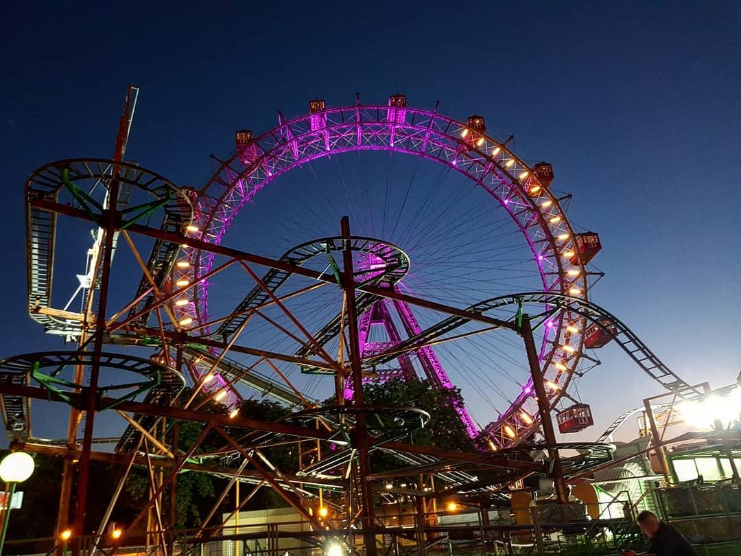 عجلة فيريس فيينا - افضل الاماكن السياحية في فيينا