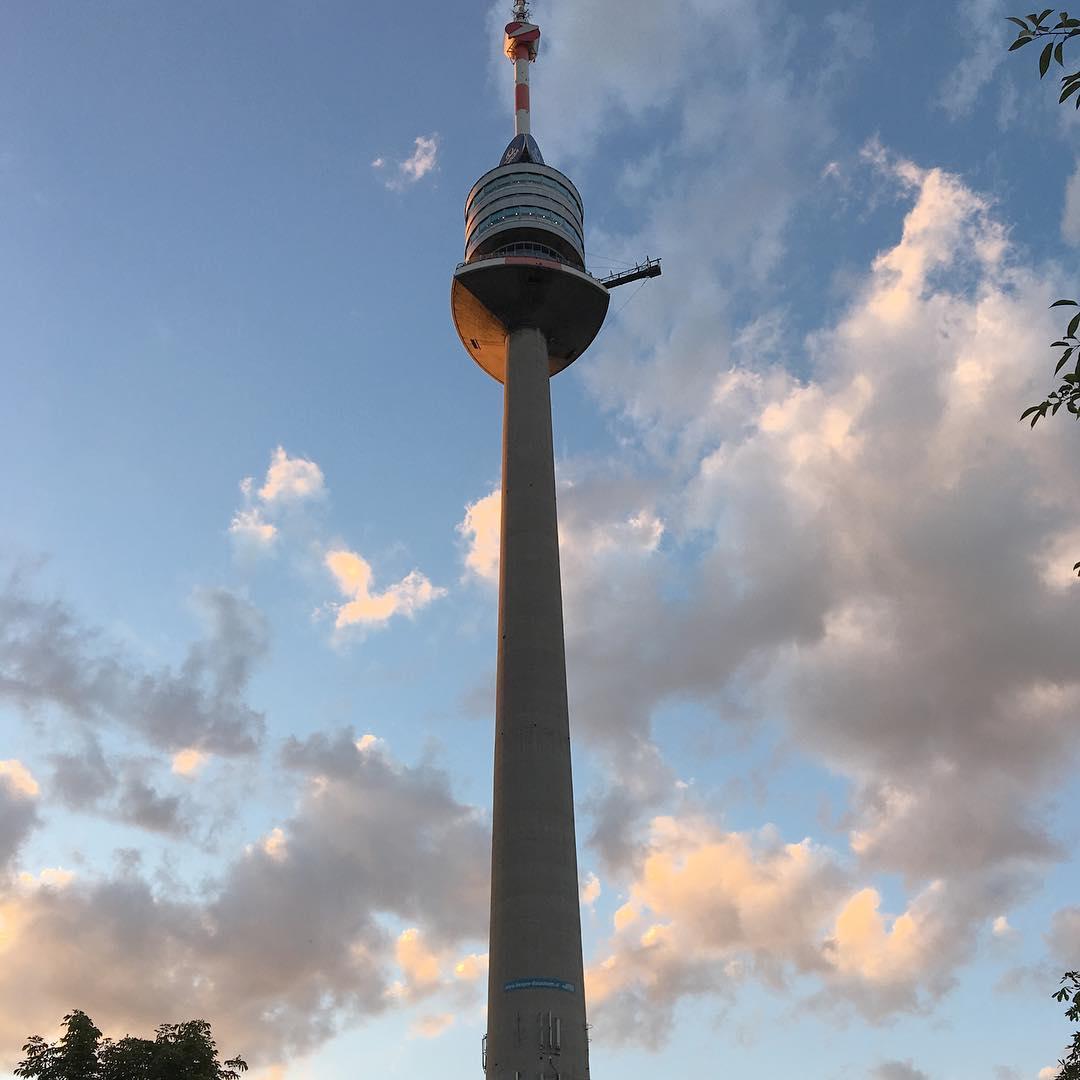 برج الدانوب في فيينا - اجمل الاماكن السياحية في فيينا