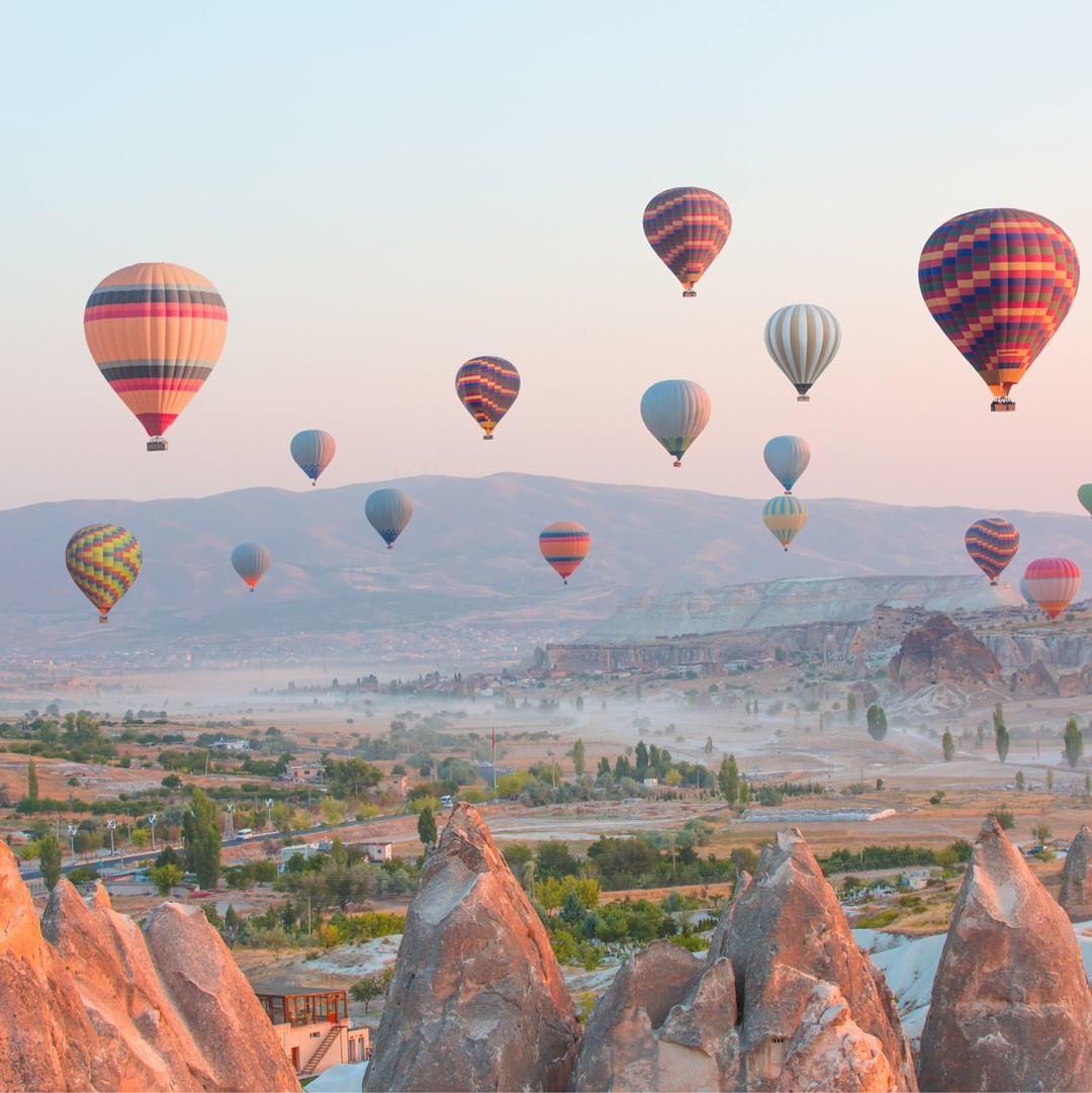 السياحة في كابادوكيا التركية - السياحة في تركيا