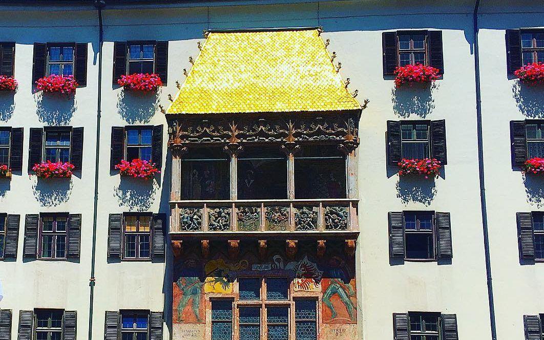 السقف الذهبي - الاماكن السياحية في انسبروك