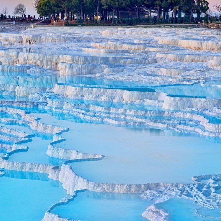 باموكالي في تركيا - مدن السياحة في تركيا