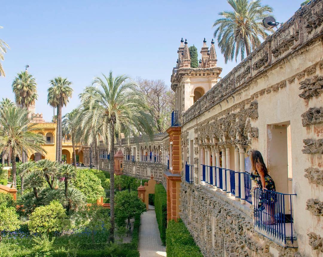 قصر المورق اشبيليا - الاماكن السياحية في اشبيلية