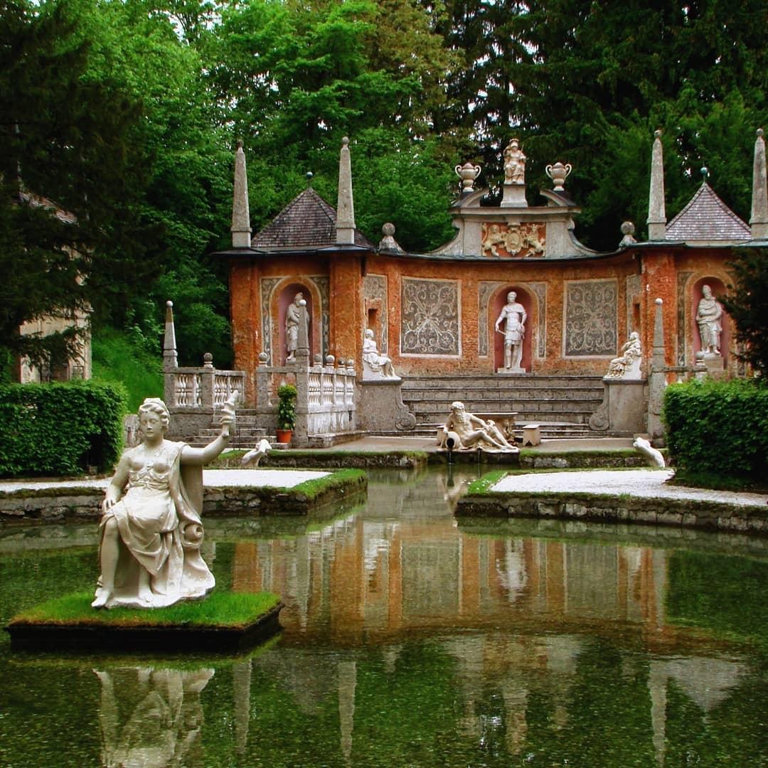 قصر هيلبرون سالزبورغ - السياحة في سالزبورغ