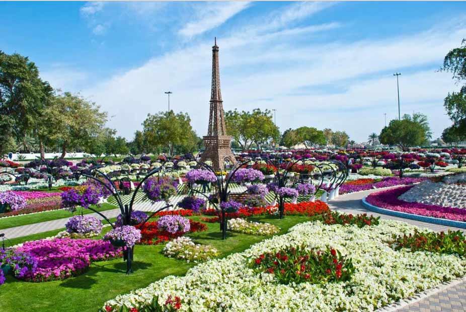 حديقة الزهور العين برادايس