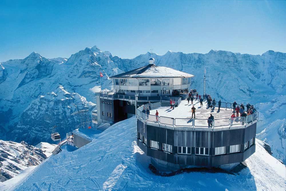 انترلاكن في الشتاء - سويسرا في الشتاء