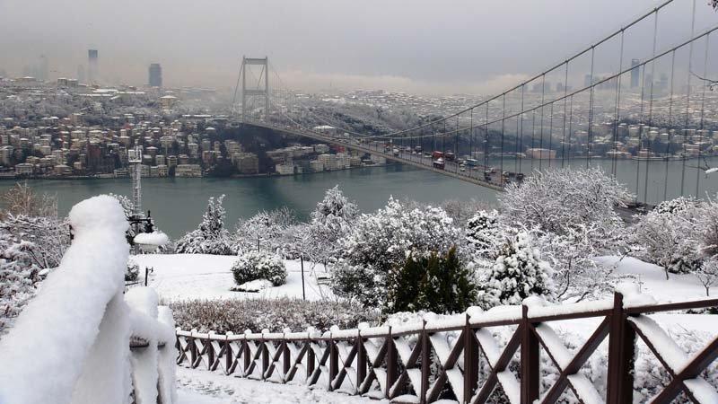 اسطنبول في الشتاء - السياحة في تركيا في الشتاء