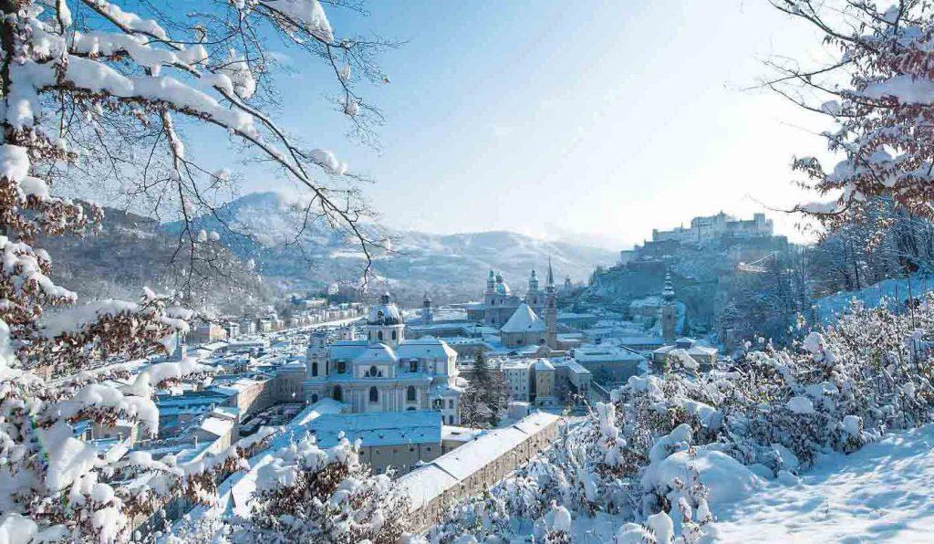سالزبورغ في الشتاء - المسا في الشتاء