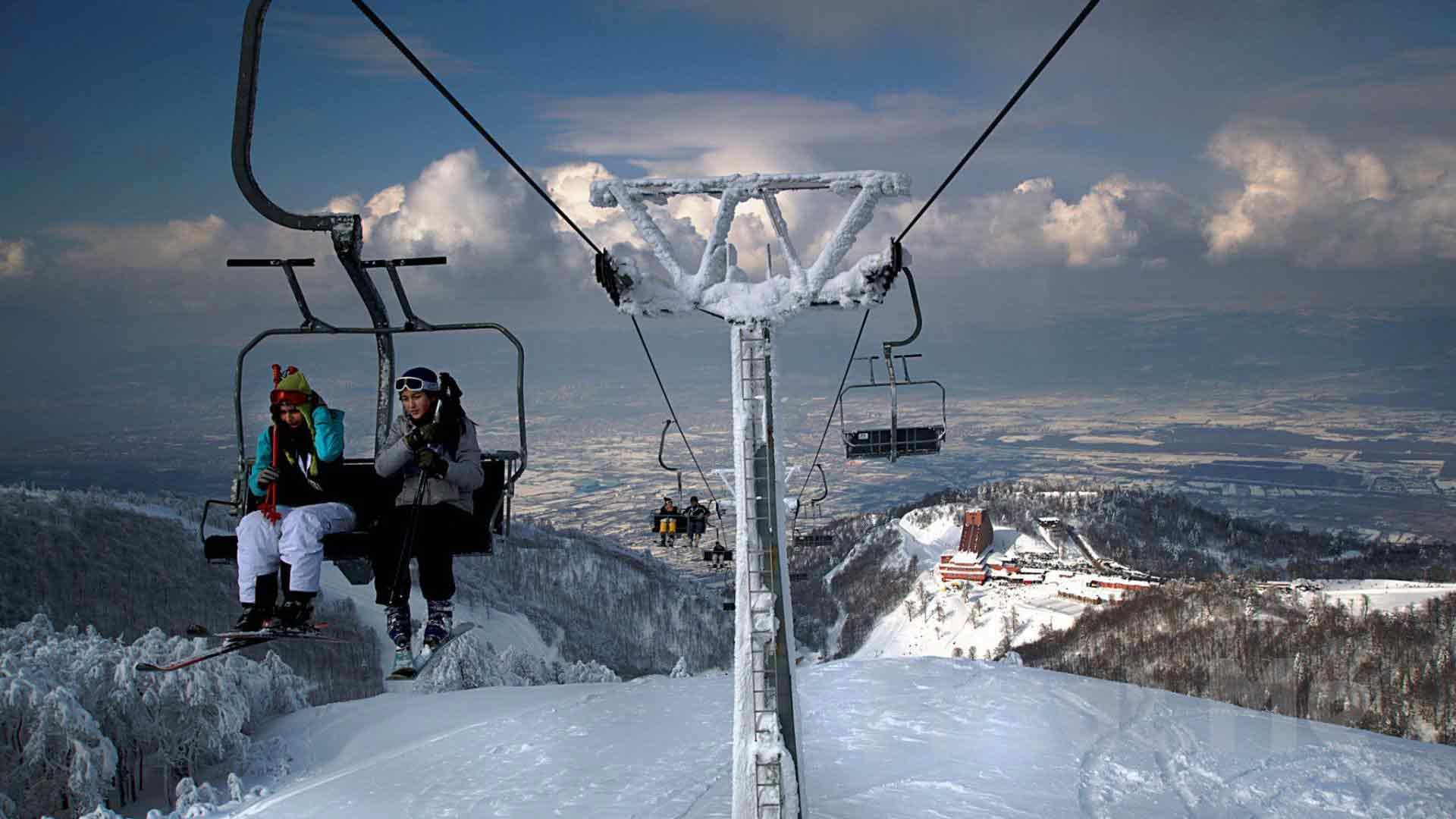 سبانجا في الشتاء - السياحة في تركيا في الشتاء