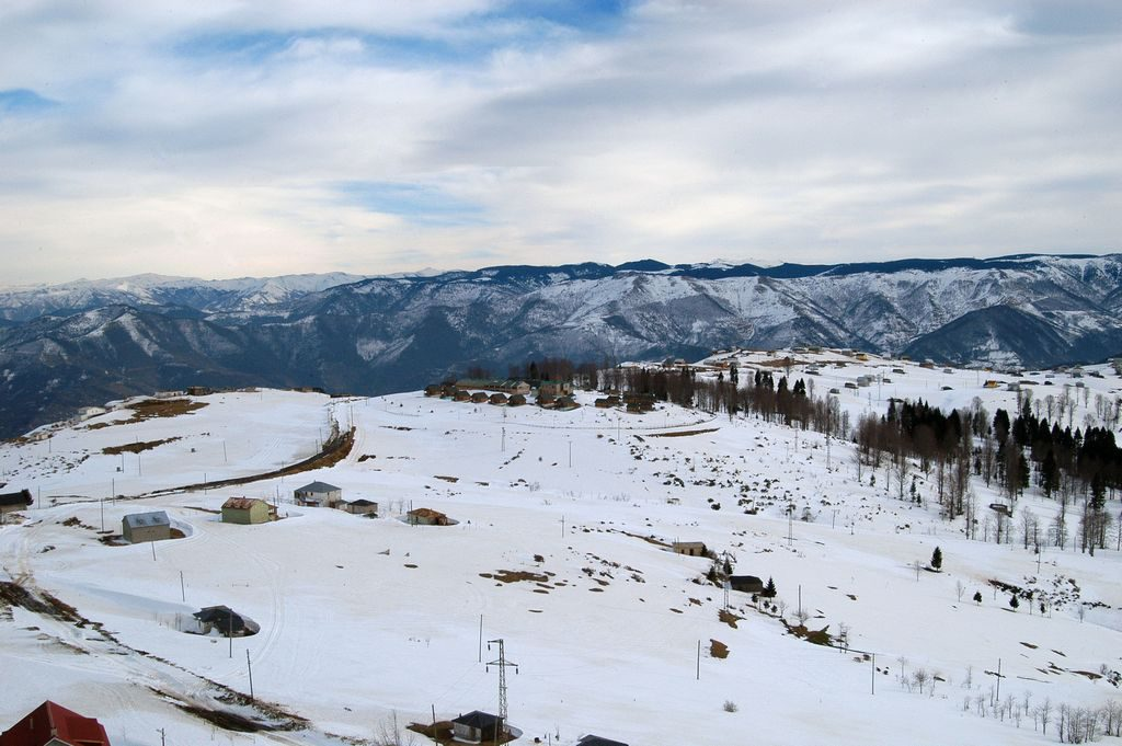 طرابزون تركيا في الشتاء