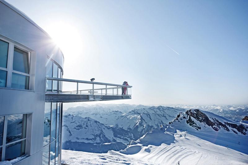 السياحة في كابرون في الشتاء