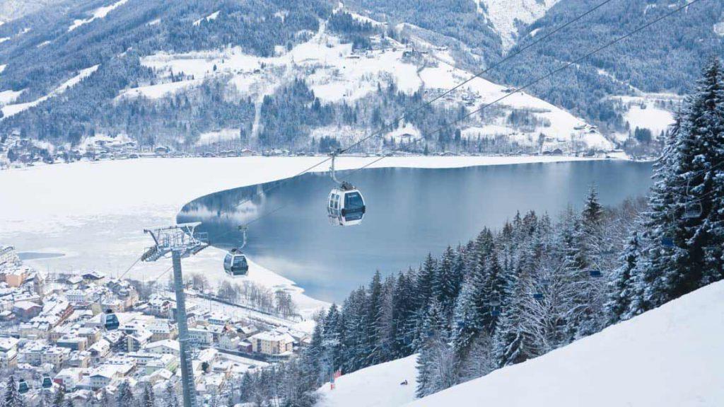 زيلامسي في الشتاء - السياحة في النمسا في الشتاء
