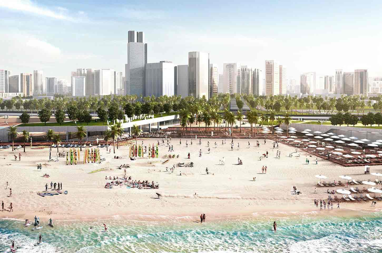 اجمل شواطئ ابوظبي