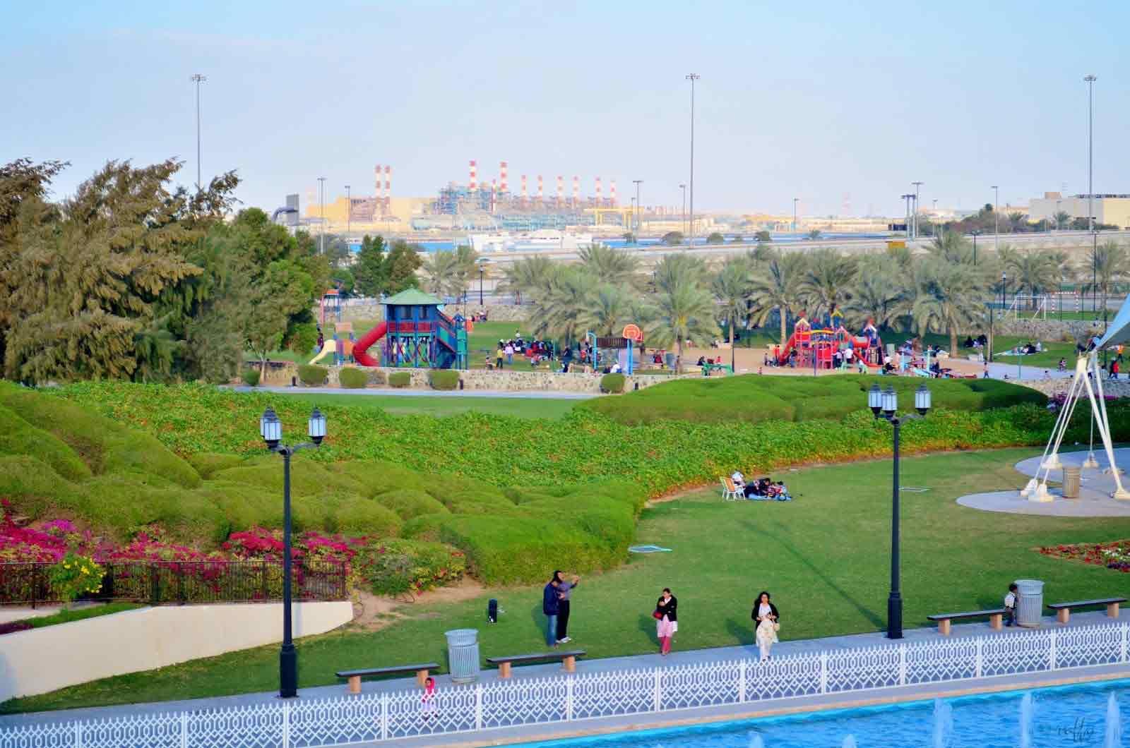 منتزه خليفة ابوظبي