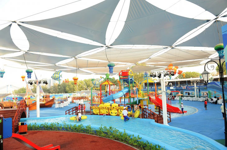 حديقة مرجان المائية ابوظبي