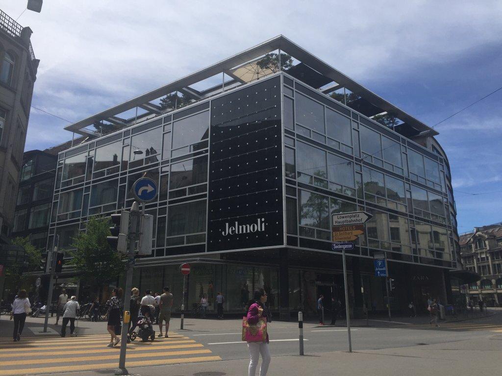 التسوق في زيورخ