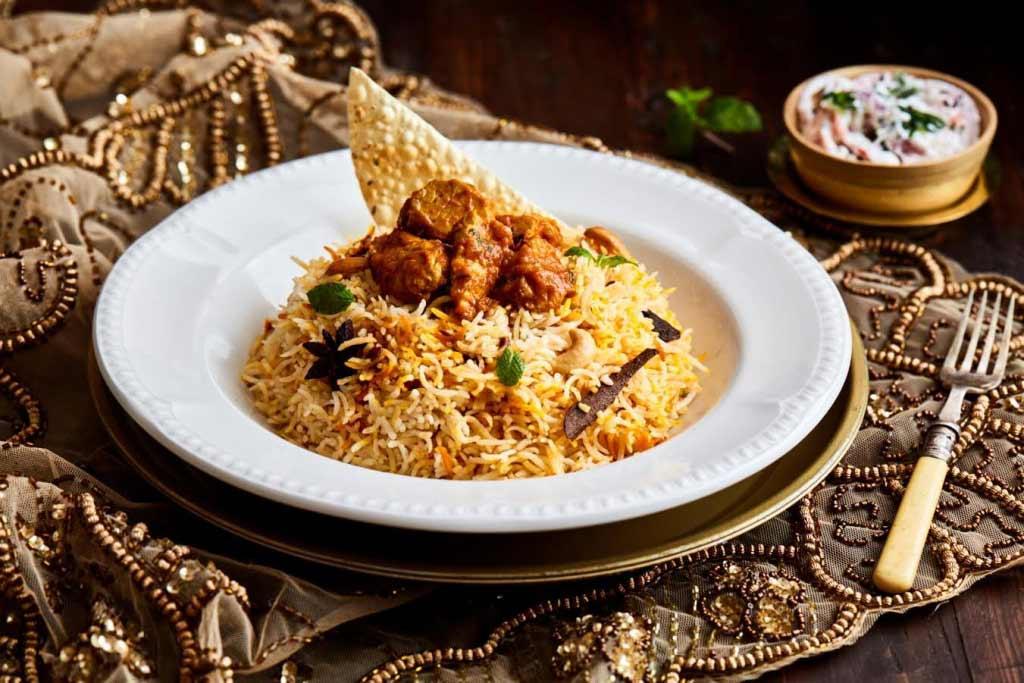 مطعم قصر الهند أبوظبي
