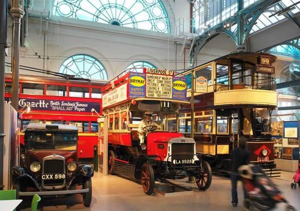 متحف المواصلات لندن