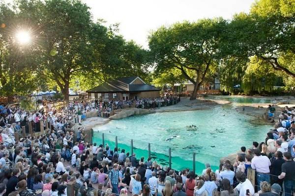 حديقة الحيوان لندن