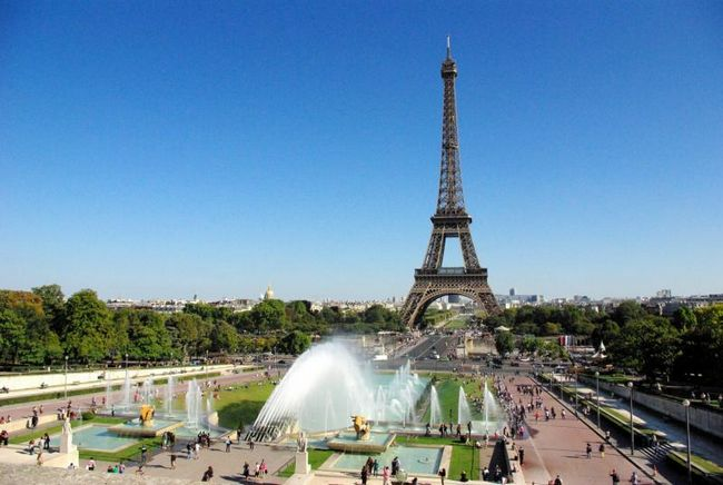 اماكن سياحية في باريس