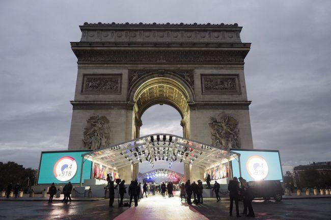 معالم باريس السياحية
