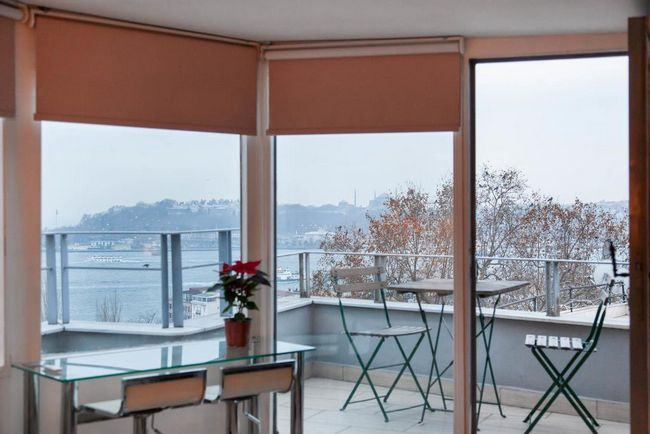 شقق فندقية في اسطنبول على البسفور