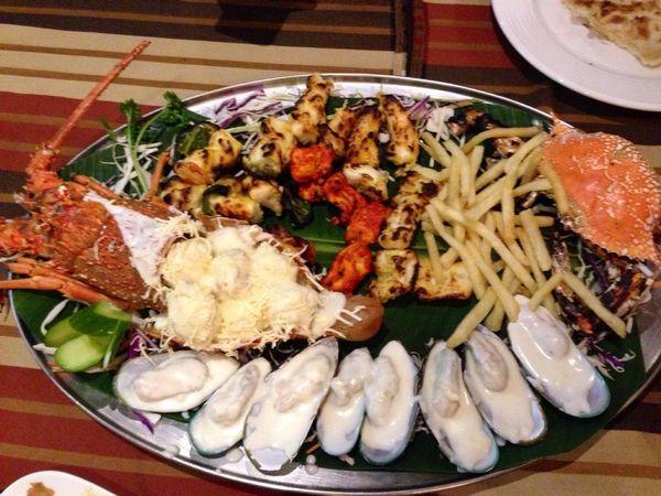 مطعم بحر الامارات راس الخيمه