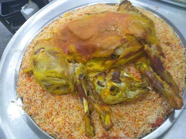 منيو مطعم اليمن السعيد راس الخيمة
