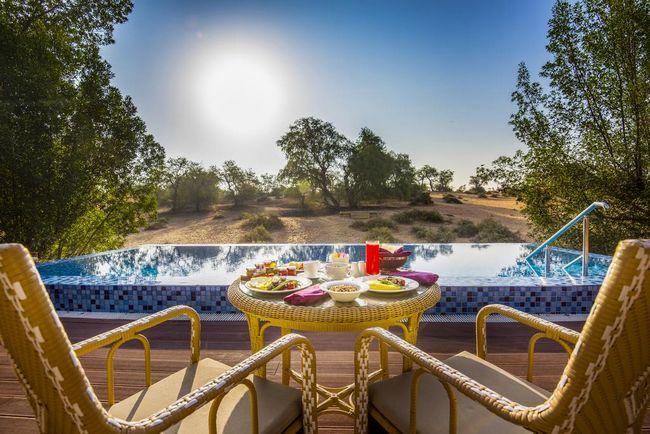 فنادق راس الخيمة مع مسبح خاص