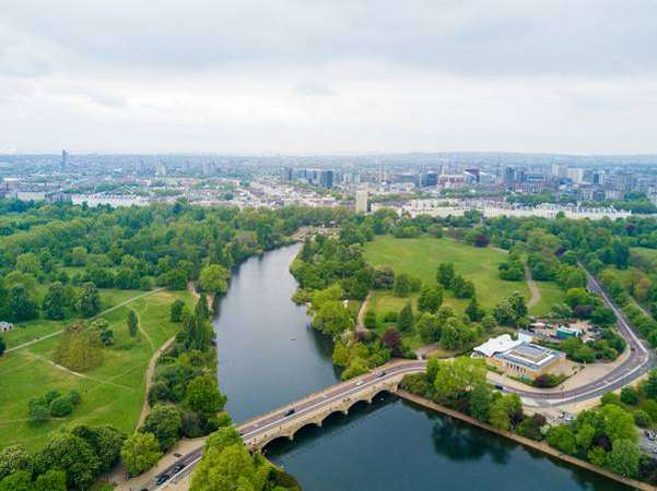 حدائق لندن